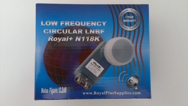 Royal Plus Circular Combo LNB 10750 for 118/119