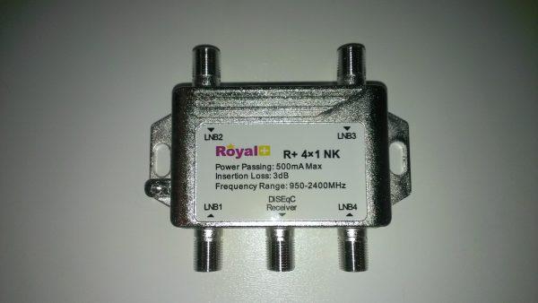 Royal plus 4X1 Switch