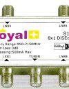 Royal Plus 8X1 DiSEqC Switch