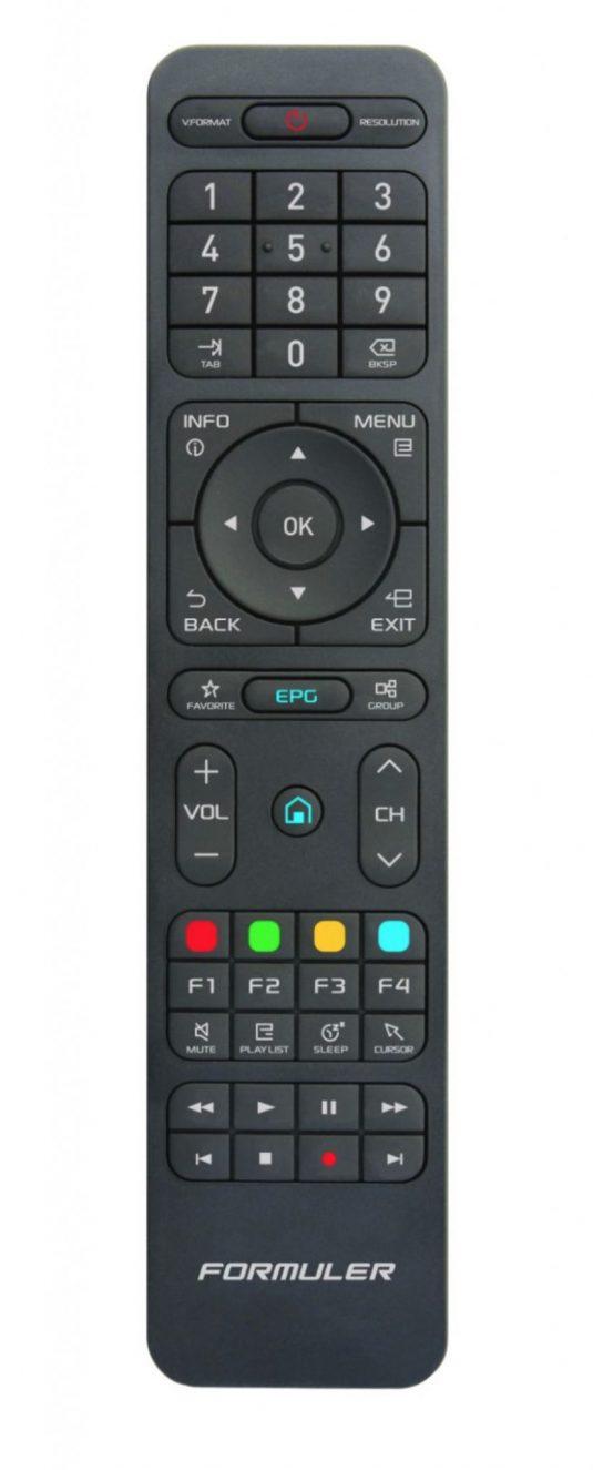 Formuler Learning remote control