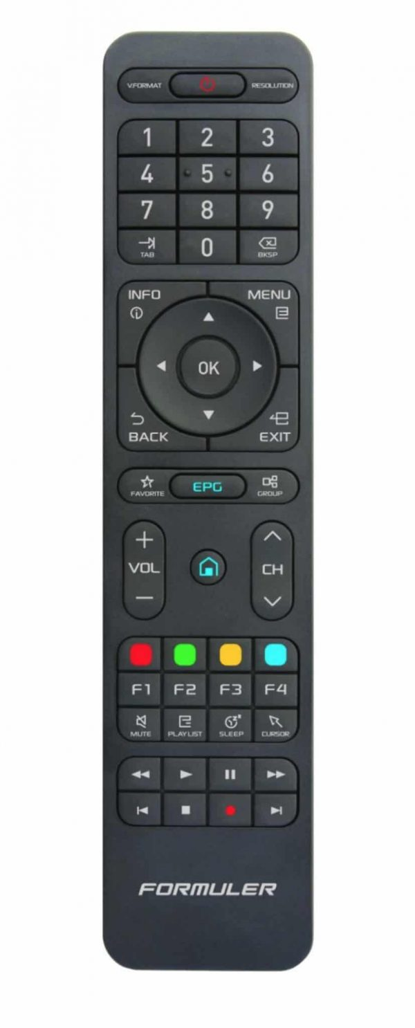 Formuler Learning remote control
