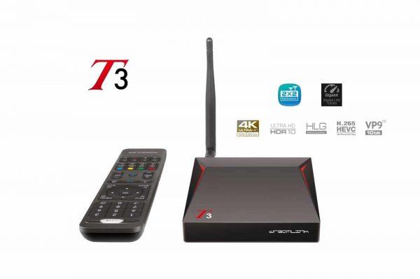 DREAMLINK T3 IPTV BOX ULTIMATE 4K UHD 2GB DDR4 + 16GB | 5G DUAL BAND GIGABIT WIFI & LAN M3U Player